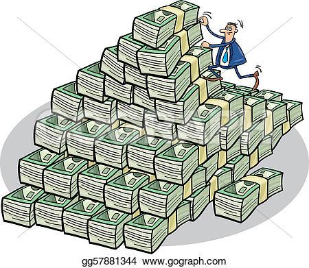 Money clipart mountain #4