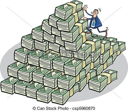 Money clipart mountain #7
