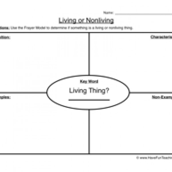 Money clipart non living Living Worksheet Science 1 Non