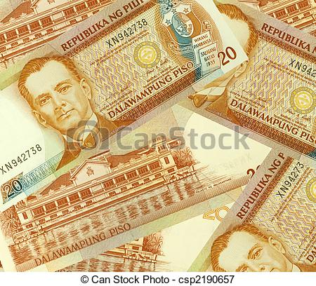 Money clipart philippine Philippine Money Banknotes Peso Banknotes