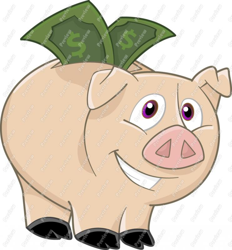 Money clipart savings account Clipart Piggy Bank Decorations Money
