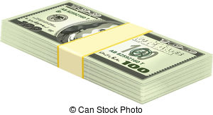 Money clipart stacked Vector Clipart Stack Stack Vector