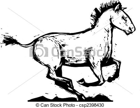 Mongolian clipart  Clipart Horse of to