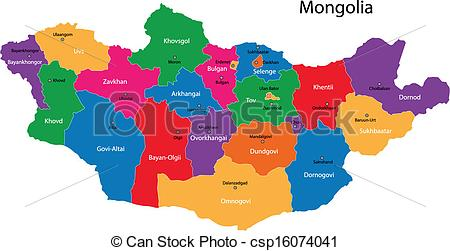 Mongolian clipart mongolia #14