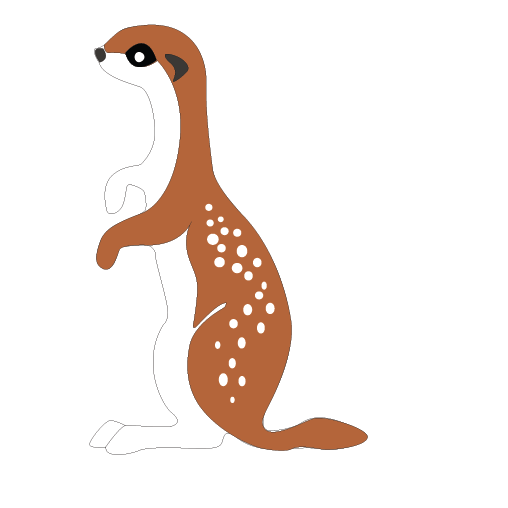 Otter clipart mongoose Cute Animal Cute Mongoose Clip