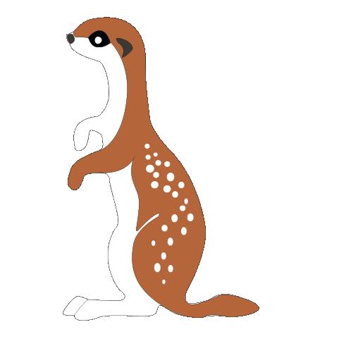Mongoose clipart Animal Cute Mongoose Clip Clipart