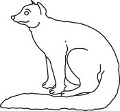 Mongoose clipart black and white Graphics 42 Pictures for Clip