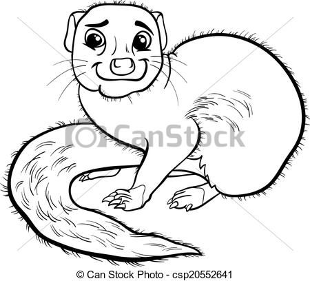 Mongoose clipart cute Book EPS cartoon Black animal