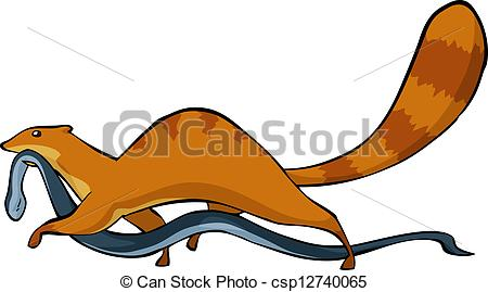 Mongoose clipart cute Of Mongoose his  Clip