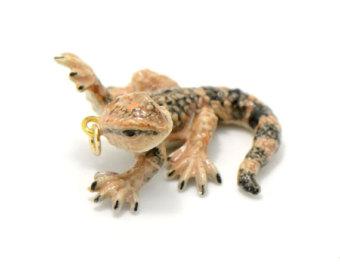 Glaze Hand Ceramic Bearded Dragon