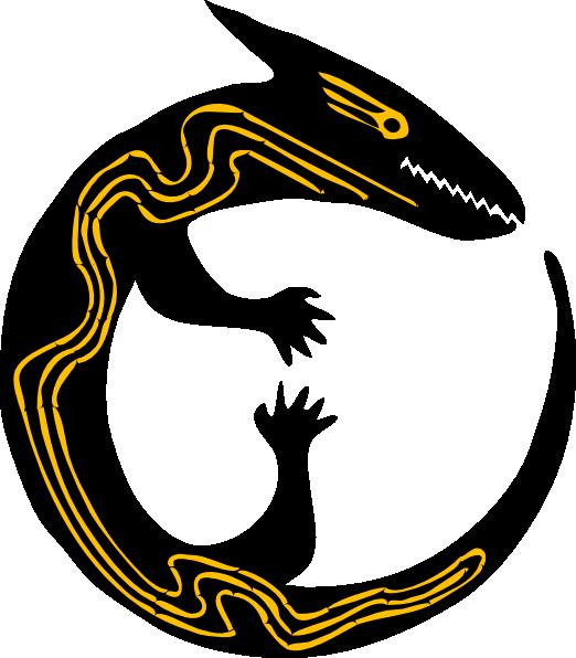Monitor Lizard clipart newt #1