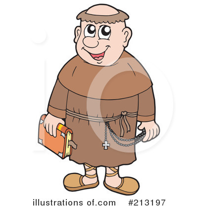 Monk clipart Clipart Royalty by #213197 Monk