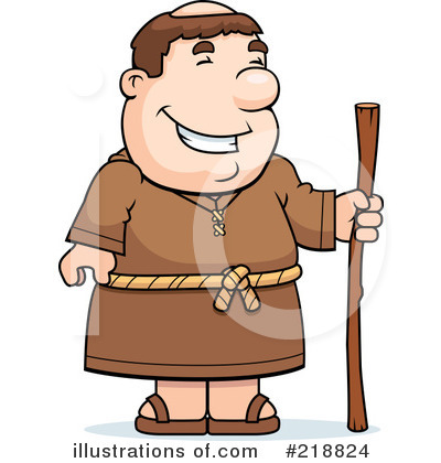 Monk clipart Clipart Royalty by #218824 Thoman