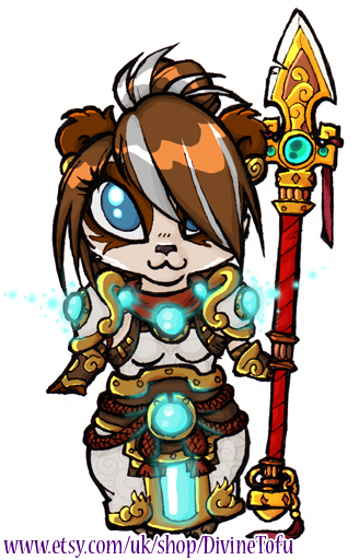 Monk clipart chibi Monk tree Zeon by WoW