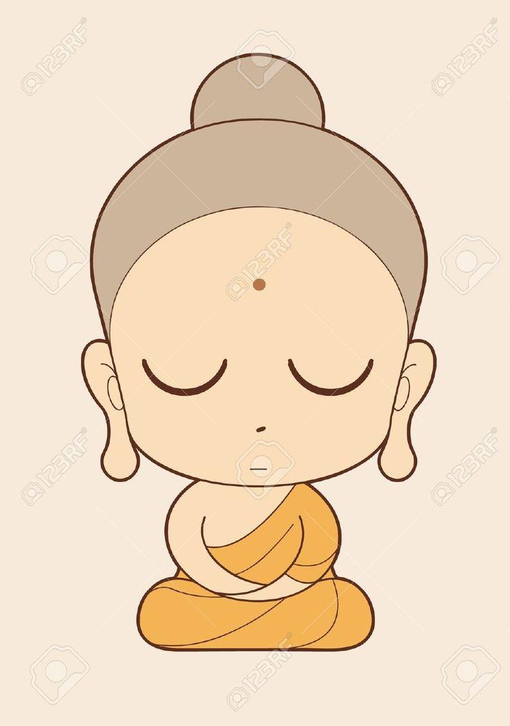 Monk clipart chibi Free on Buddha 25+ And