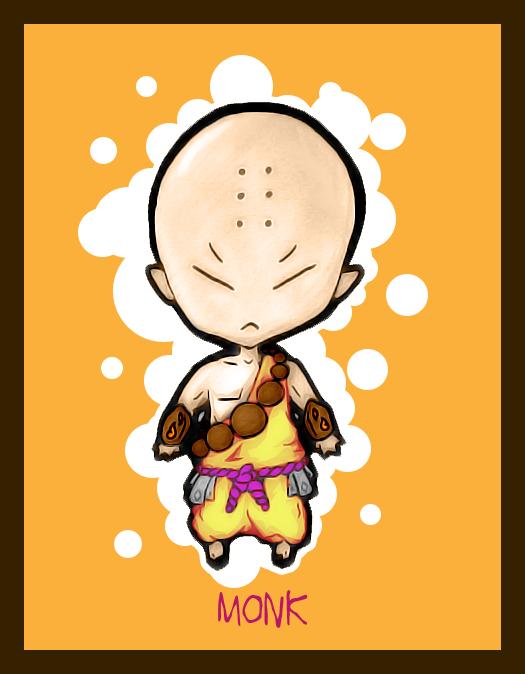 Monk clipart chibi Chibi 1nflames 1nflames DeviantArt by