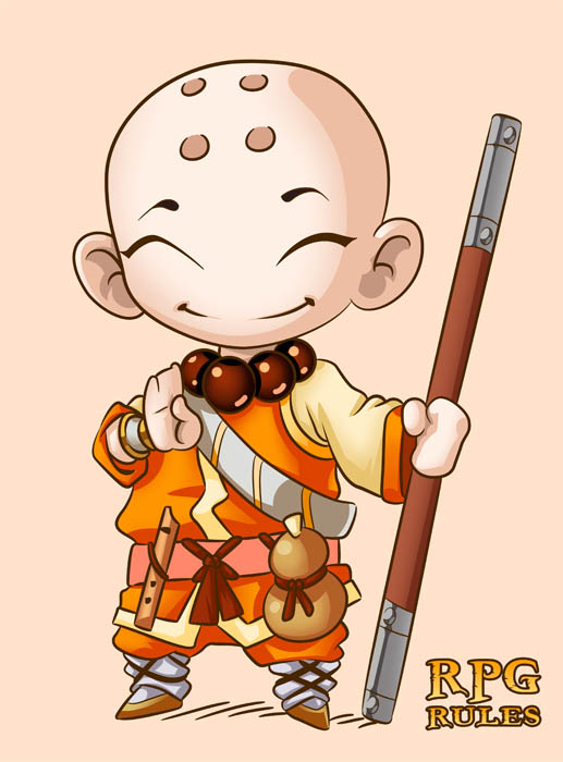 Monk clipart chibi Role cute chibi mauroperoni role