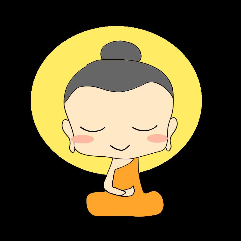 Thai clipart buddhism Buddha Chibi Buddhist Clip Download