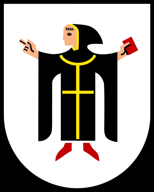 Monk clipart german Of Wikipedia Munich arms Coat