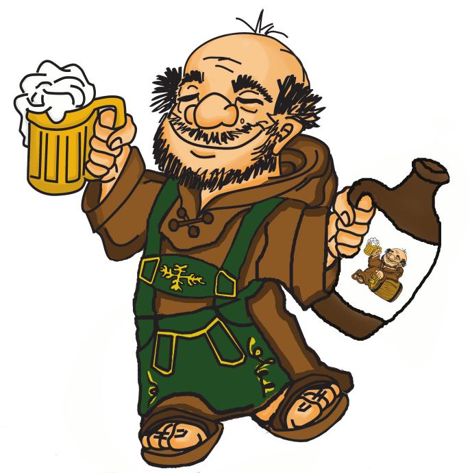 Monk clipart german LLC Oktoberfest beer Good Brewing
