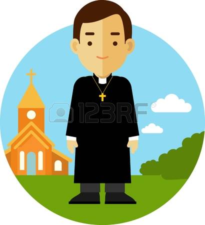 Monk clipart different religion Clipground Royalty Free priest Priest