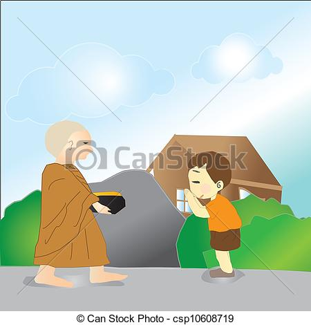 Monk clipart wise man Respect are Clipart kids Illustration