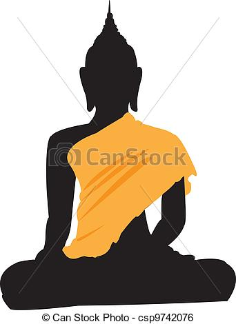 Thai clipart buddhism Thai csp9742076 Buddha Buddha sitting
