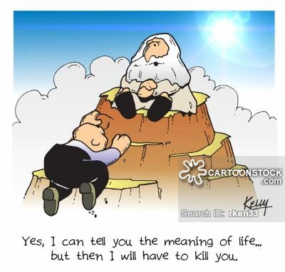Philosophy clipart life CartoonStock Comics from Cartoons funny