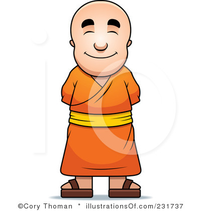 Monk clipart wise man Once wise said Vision man