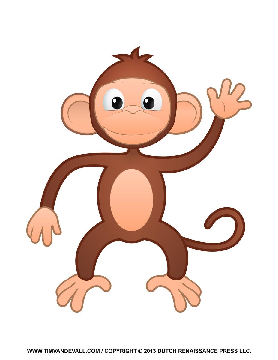 Number clipart monkey Clipart Art Monkey Clipart Free