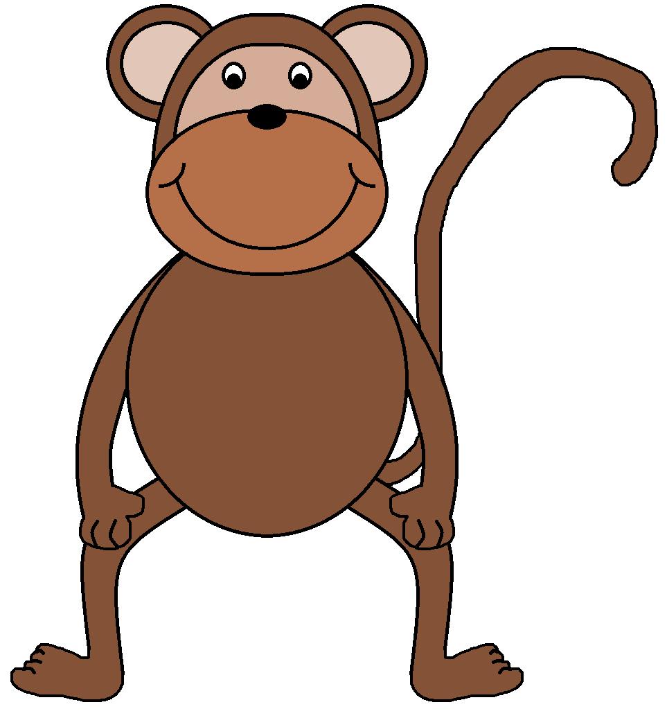 Baboon clipart happy monkey Com art monkey baby art