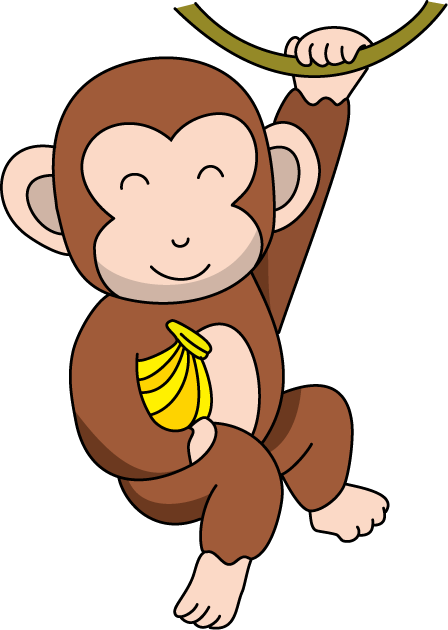 Number clipart monkey Pictures Free free Monkey Art