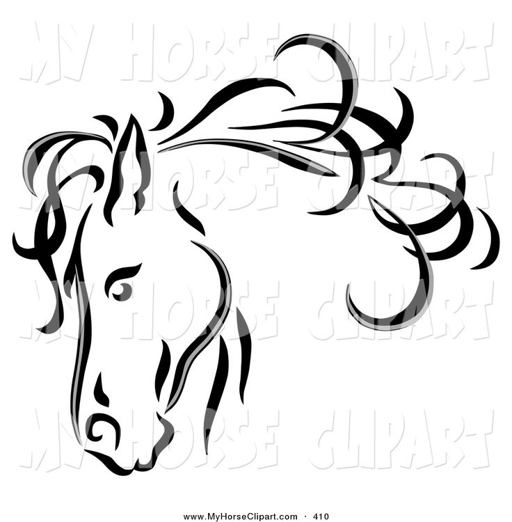 Larger clipart headed Clipart Download clipart Monochrome #8