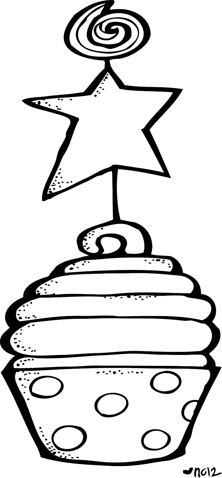 Black & White clipart birthday Free And Images White Clipart