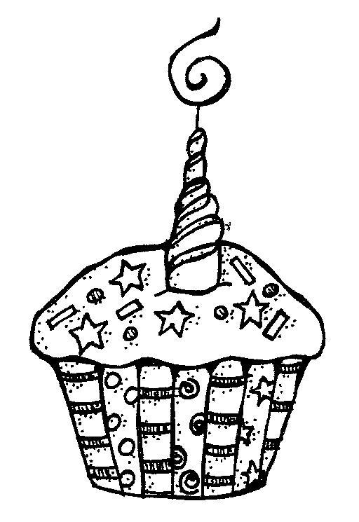 Black & White clipart birthday White and birthday Birthday birthday