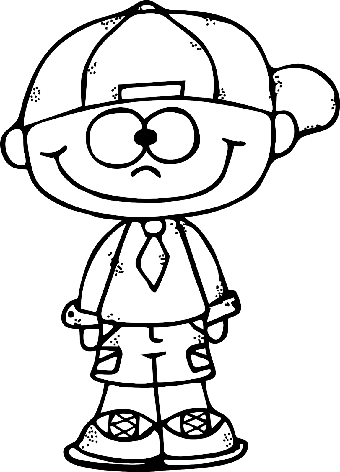 Boy clipart black and white And White And Clipart Boy