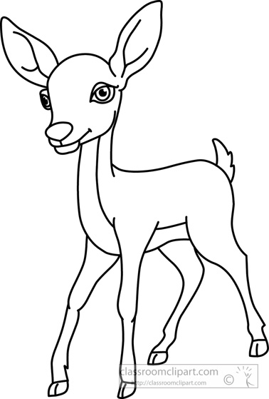 Dear clipart black and white Of collection clipart art collection