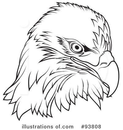 Bald Eagle clipart black and white 50 Clipart 88 Clipart Image