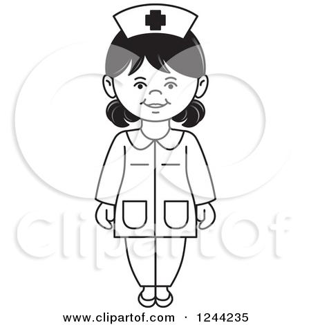 Black white and nurse white