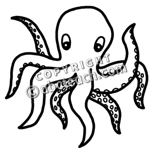 Black clipart octopus Clip Free Images Octopus Octopus