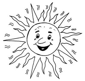 Monochrome clipart sun Jpg Clipart sun white Black
