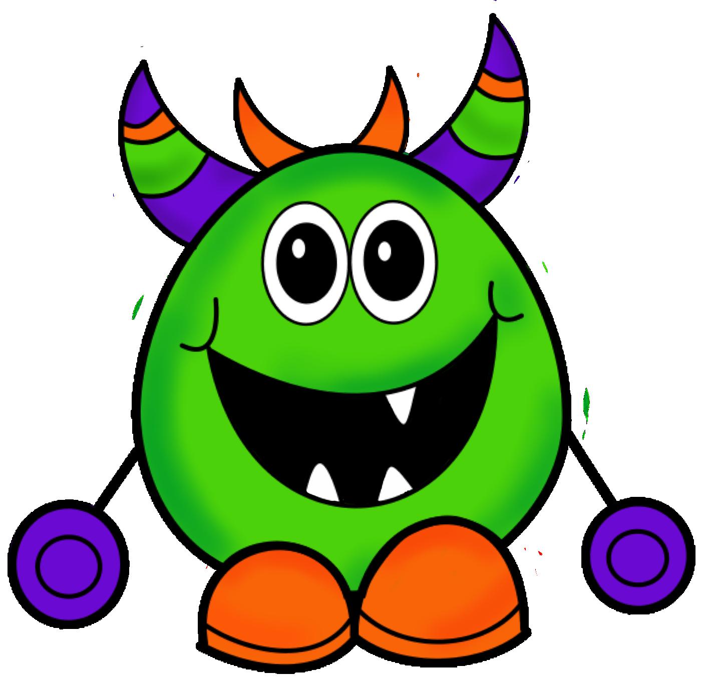 Screaming clipart halloween monster Halloween%20monster%20clipart Panda Clipart Halloween Free