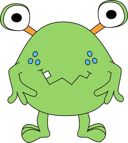 Pink Eyes clipart baby monster #8