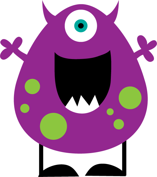 Pink Eyes clipart cute monster Clipartix clipart Free Art Clip
