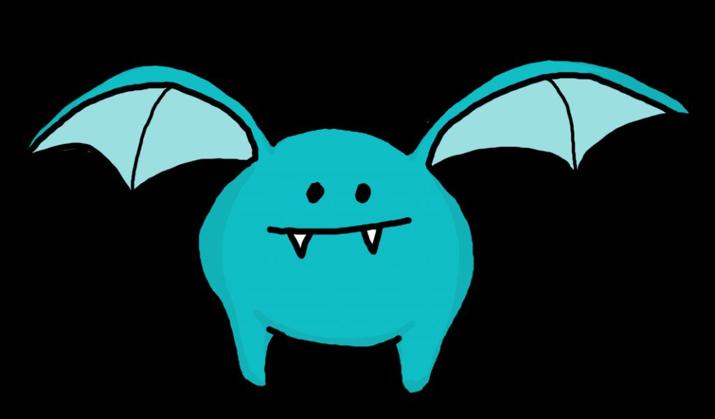 Monster clipart blue monster #15