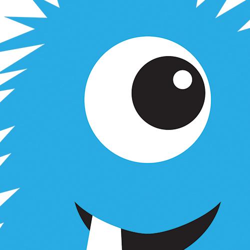Monster clipart blue monster #8