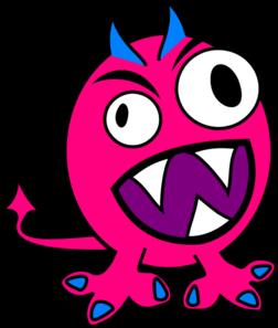 Monster clipart blue monster #14