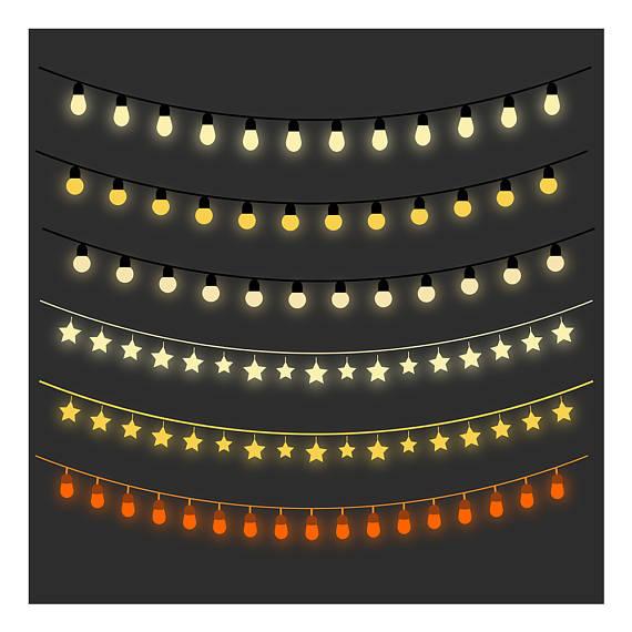 Monster clipart christmas Art Lights Fairy Light Clipart