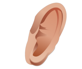 Monster clipart ear #5