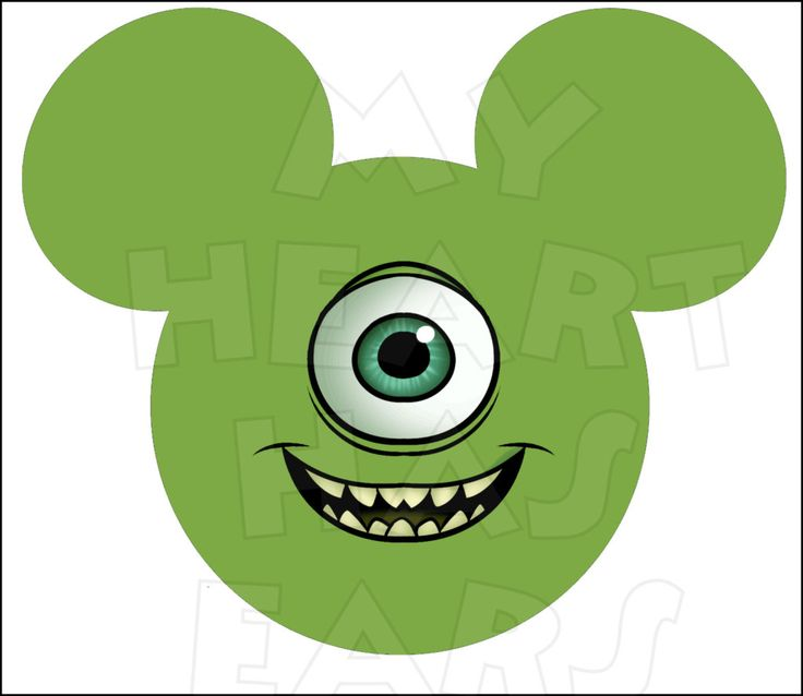 Monster clipart ear #14